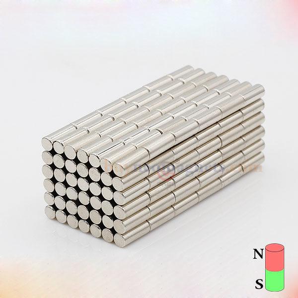 d1594acb743 4mm de diâmetro x 9 mm de espessura fortes neodímio Rod Ímãs N35 Rodada  Cilindro poderosos ímãs Rare ímã da terra Venda Amazon Home Depot